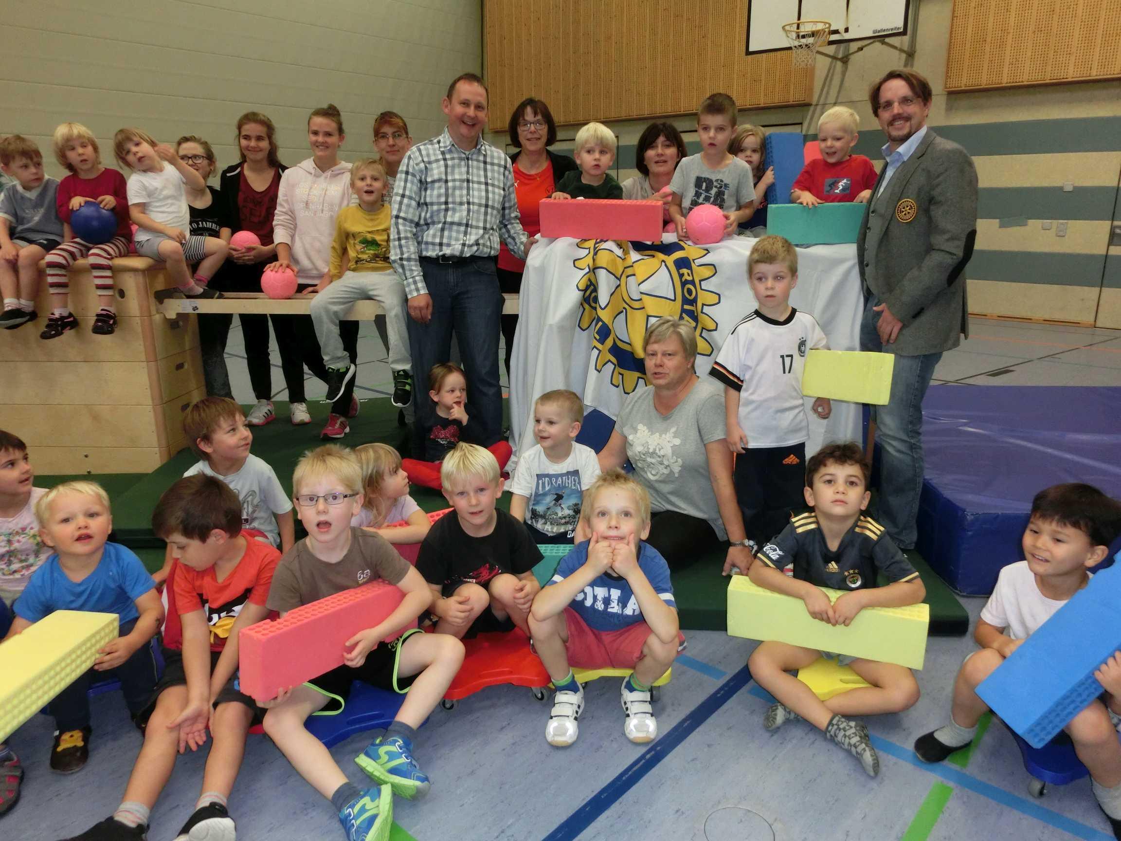 RC Buchloe: Anschaffung neuer Turn- und Spielgeräte
