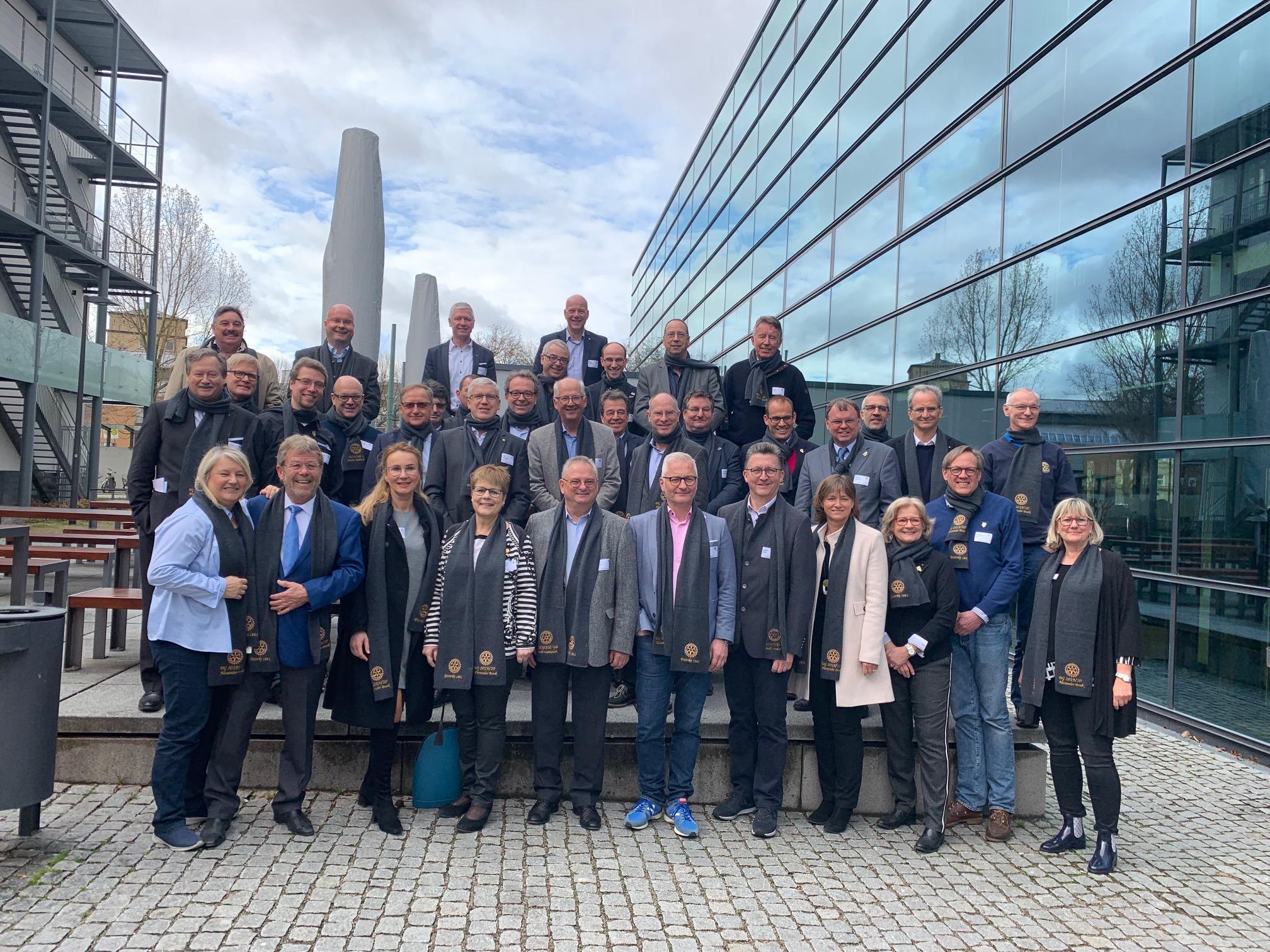 Distrikt-Trainingsversammlung gibt Incoming-Vorständen 2019/20 wichtige Impulse
