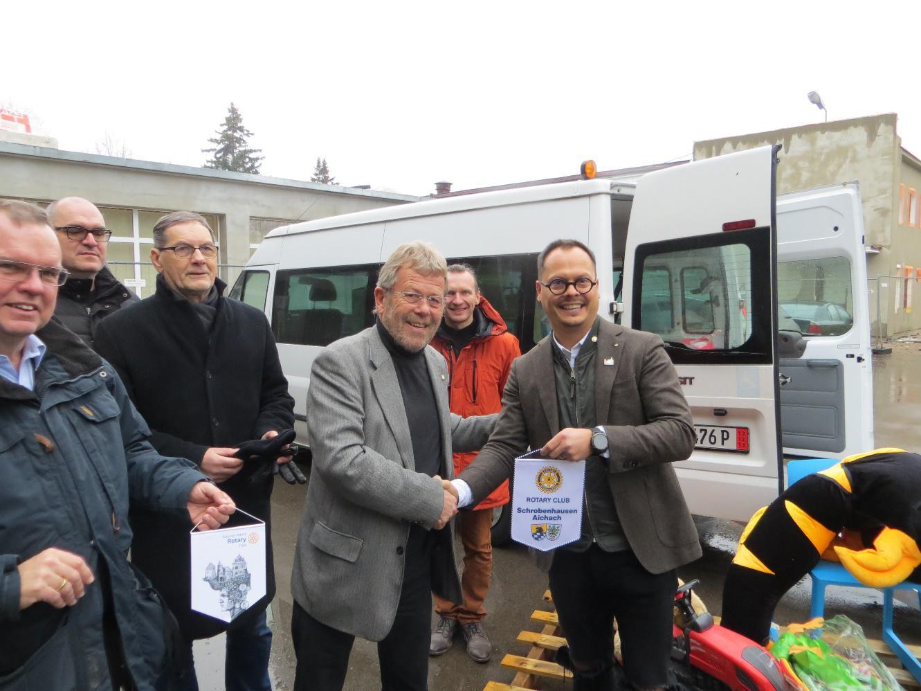 Behindertentransporter für Litauen