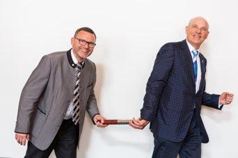 DIKO 2018 und Stabwechsel von Jürgen Horvath zu Hans-Peter Sonnenborn